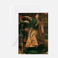 Morgan Le Fay Greeting Card