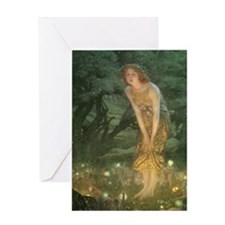 Midsummer Eve Greeting Card