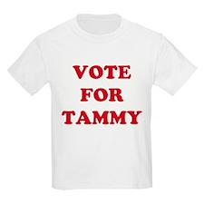 VOTE FOR TAMMY Kids T-Shirt