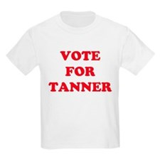 VOTE FOR TANYA Kids T-Shirt