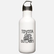 Toyota Outlaws Logo Water Bottle