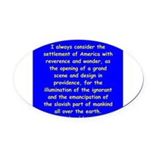 29.png Oval Car Magnet