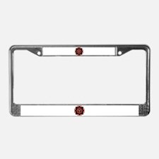 Goddess Kali Yantra License Plate Frame