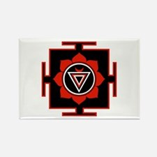 Goddess Kali Yantra Rectangle Magnet (100 pack)