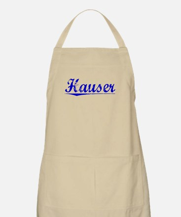 Hauser, Blue, Aged Apron