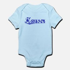 Hauser, Blue, Aged Infant Bodysuit