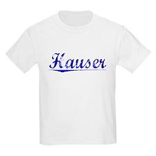 Hauser, Blue, Aged T-Shirt