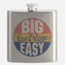 New Orleans Vintage Label Flask