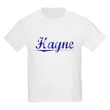 Hayne, Blue, Aged T-Shirt