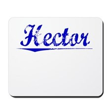 Hector, Blue, Aged Mousepad