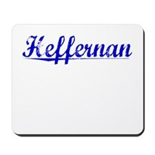 Heffernan, Blue, Aged Mousepad