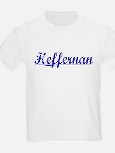 Heffernan, Blue, Aged T-Shirt