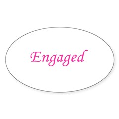 Engaged Oval Decal