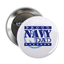 Proud Navy Dad Button