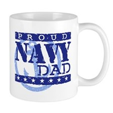 Proud Navy Dad Mug
