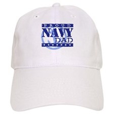 Proud Navy Dad Baseball Cap