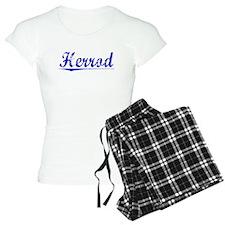 Herrod, Blue, Aged pajamas
