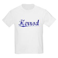 Herrod, Blue, Aged T-Shirt