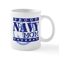 Proud Navy Mom Small Mug
