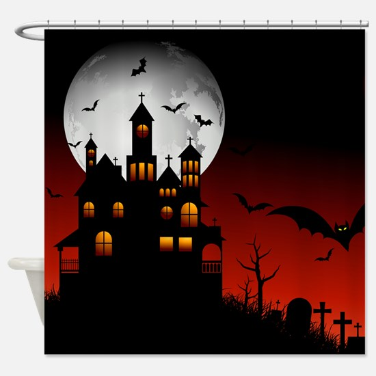 BLOODY NIGHT Shower Curtain