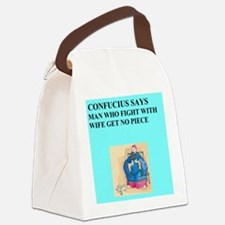funny confucius chinese proverb joke Canvas Lunch
