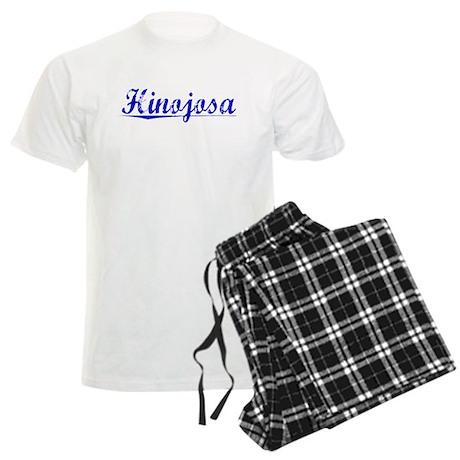 Hinojosa, Blue, Aged Men's Light Pajamas