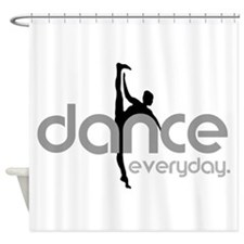 dance everyday Shower Curtain