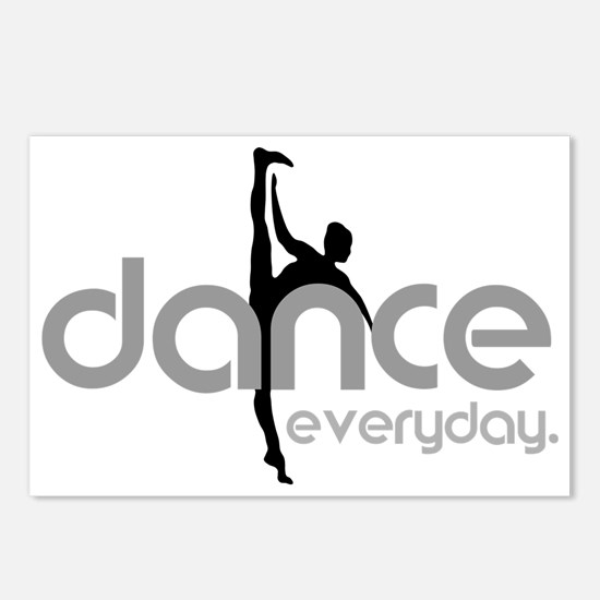 dance everyday Postcards (Package of 8)
