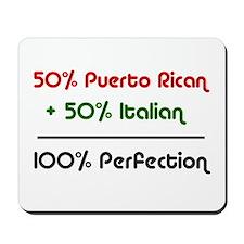 Italian & Puerto Rican Mousepad