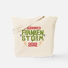 I Survived Frankenstorm Tote Bag