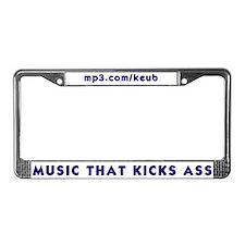 mp3.com License Plate Frame