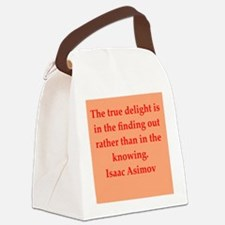 asimov11.png Canvas Lunch Bag