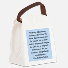 bailey2.png Canvas Lunch Bag