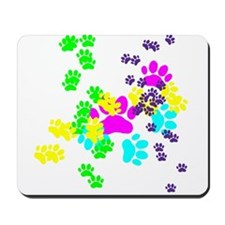 Pawprints Mousepad