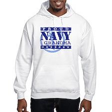 Proud Navy Grandma Jumper Hoody
