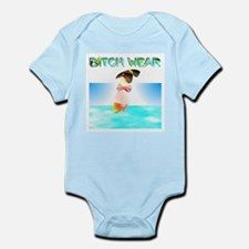 bitchwear Infant Creeper
