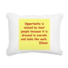 edison10.jpg Rectangular Canvas Pillow