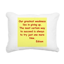 edison12.jpg Rectangular Canvas Pillow