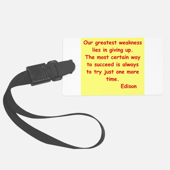 edison12.jpg Luggage Tag
