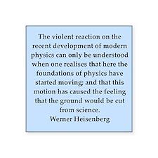 "heisenberg5.png Square Sticker 3"" x 3"""