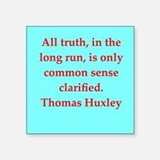 "huxley1.png Square Sticker 3"" x 3"""