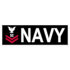 Navy BM2<BR> Bumper Car Sticker