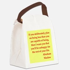 maslow3.jpg Canvas Lunch Bag