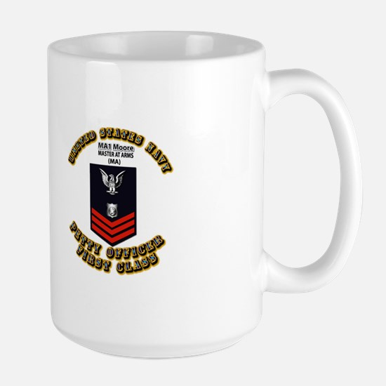 T-Shirt - Navy - Master at Arms - Special - Moore