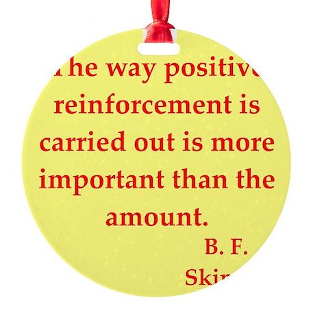 skinner2.jpg Round Ornament
