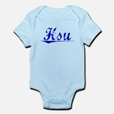 Hsu, Blue, Aged Infant Bodysuit