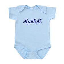 Hubbell, Blue, Aged Infant Bodysuit