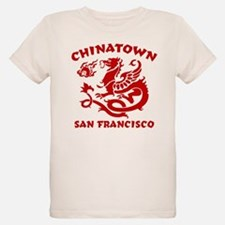 Chinatown San Francisco Ash Grey T-Shirt