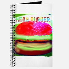 neon burger Journal