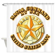 Navy - Command At Sea Shower Curtain